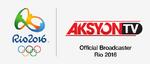 AksyonTV Rio 2016 Logo