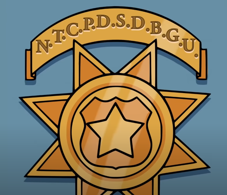 New Town City Police Department Super Duper Bad Guys Unit