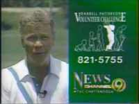 WTVC Darrell Patterson Volunteer Challenge Promo ID (1991)
