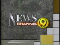 WTVC NewsChannel 9 logo from 1991