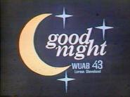 WUAB-TV Cleveland 1977 Legal ID Card
