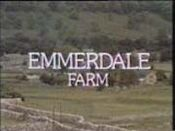Emmerdale Farm Intro Oct 16 1972
