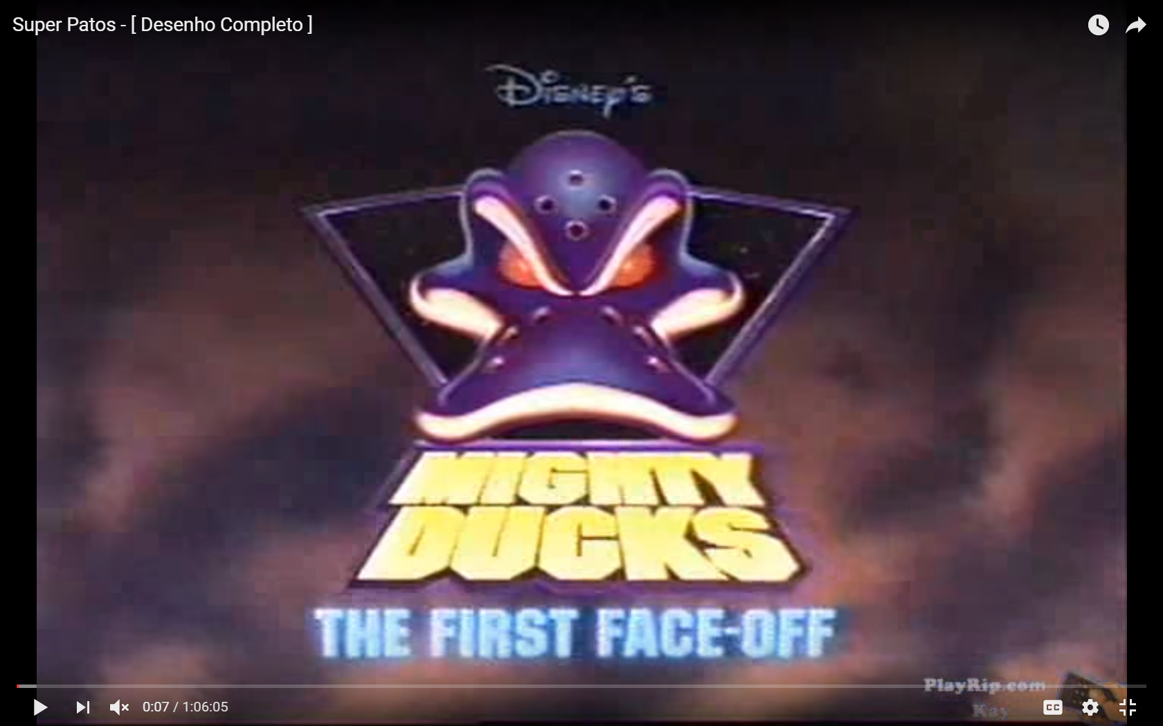 Mighty Ducks: The First Face Off