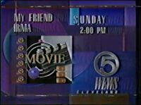 WEWS-TV Movie My Friend Irma promo 1990-91