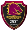 Broncos 20th Season Logo