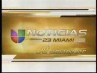 Wltv noticias univision 23 miami al amanecer package 2001