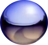 Nick Silver Ball without text
