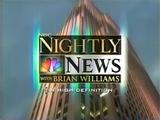 NBC Nightly News; July 9, 2007 (2)