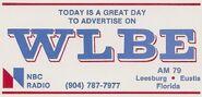 WLBE 1982 Logo