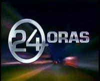 24 Oras Logo (Studio Bumper, April 17, 2006 - August 8, 2008)