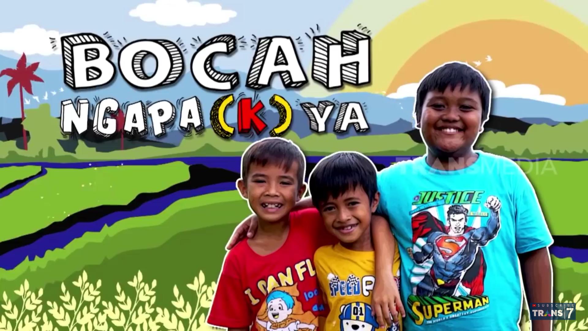 Bocah Ngapa(k) Ya