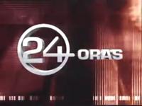 24 Oras Logo (Studio Bumper, March 15, 2004 - April 14, 2006)