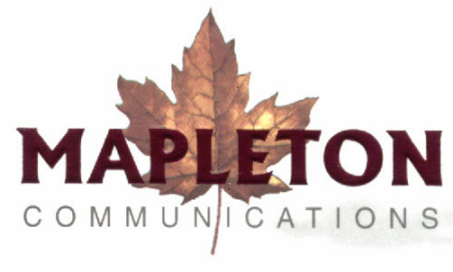 Mapleton Communications