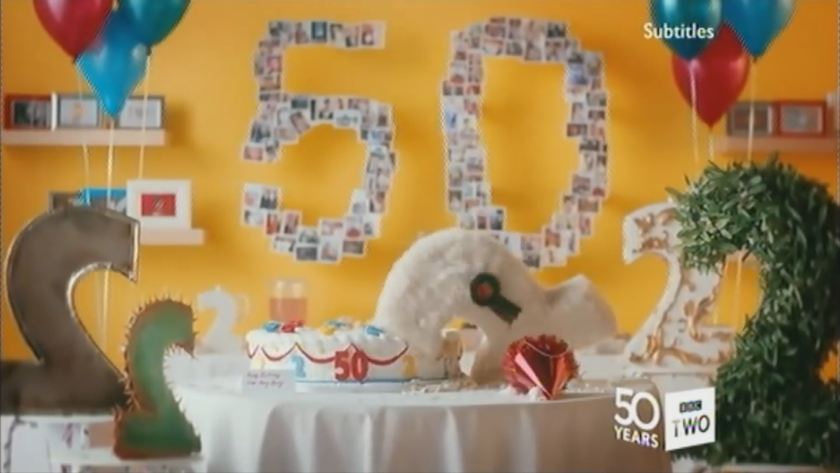 BBC Two/50 Years Idents