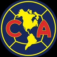 Escudo Club América 2009-2010 Azul