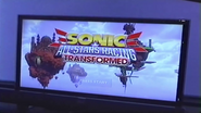 Sonic All Stars Transformed E3 Title Screen