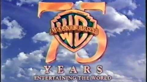 Warner Brothers 75 Years Opening