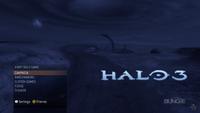 Halo 3 menu
