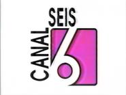 Ident Canal 6 (El Salvador) - 1996