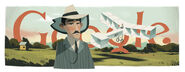 Google Santos Dumont's 139th Birthday
