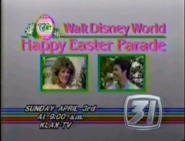 KLAX-TV Walt Disney World Happy Easter Parade Promo