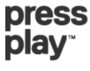 Press play wordmark