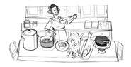 Google Julia Child's 100th Birthday (Storyboard 2)