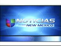 Kluz now back to noticias univision new mexico bumper 2002