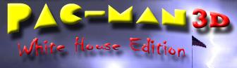 Pac-Man 3D White House Edition