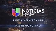 Kinc kren noticias univision nevada 6pm 11pm mas tiempo contigo promo 2019