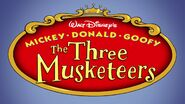 The Three Musketeers Title Card