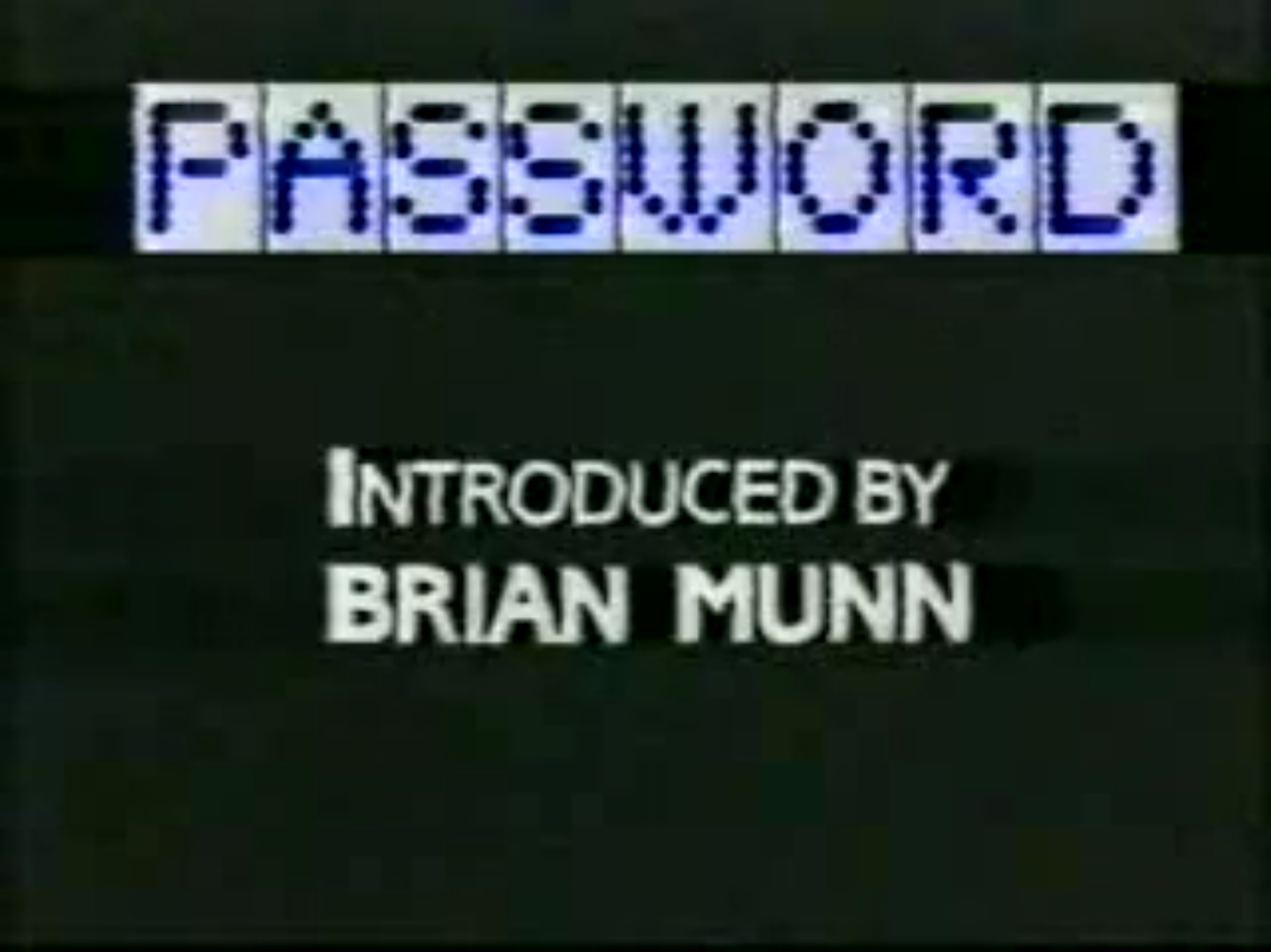 Password (UK)