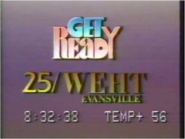 WEHT 25 Get Ready for CBS 1989