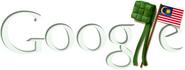 Google Malaysian Independence Day