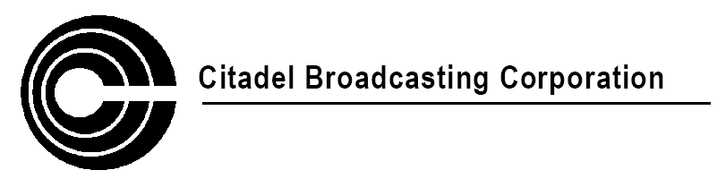 Citadel Broadcasting Corporation