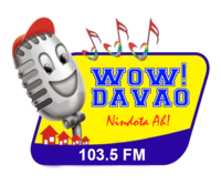 Wow Davao 103.5 Logo 2007.png
