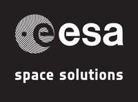 ESAlogo spacesolutions whiteonblack