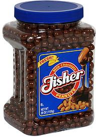Fisher Chocolate Peanuts