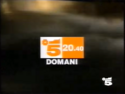 Canale 5 - white and yellow orange 1994
