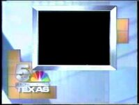 NBC 5 KXAS Dallas Texas Sign Off and On 1989