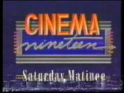 WOIO Cinema Nineteen Saturday Matinee
