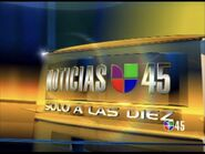 Kxln noticias univision 45 10pm package 2006