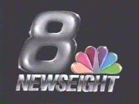 WROC-TV NewsEight 1987 logo