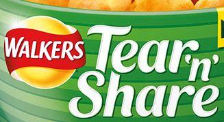 Walkers Tear 'n' Share