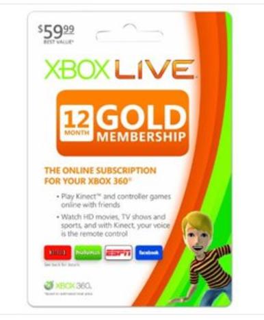 Xbox Live/Gold