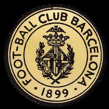 11+ Fc Barcelona Logo Outline