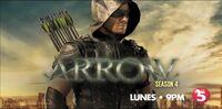 TV5 Arrow Season 4 Test Card