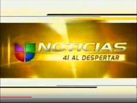 WXTVNoticias41UnivisionAlDespertarOpen 2001