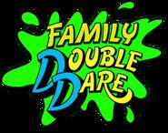 Family Double Dare splat logo