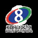 Canal 8 MDP (TELEFE) - Logo 2008-2010